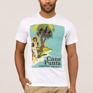 T-shirt Affiche de voyage de la République Dominicaine de