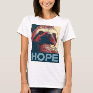 T-shirt Affiche d'espoir de paresse