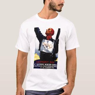 T-shirt Affiche olympique de publicité de 1936 jeux