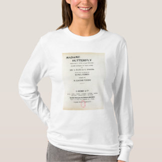 T-shirt Affiche pour Madame Butterfly par Giacomo