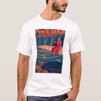 T-shirt Affiche sportive d'aviation