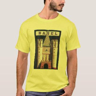 T-shirt Affiche vintage de voyage de Bâle