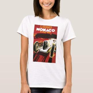 T-shirt Affiche vintage d'épreuve sur route de voiture du