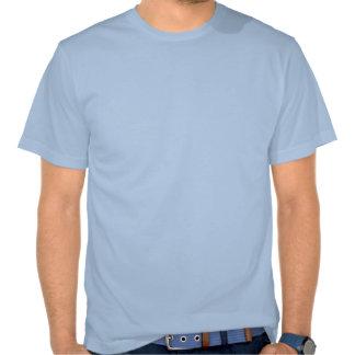 T-shirt africain de bleu de ciel de safari