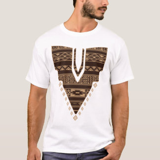 T-shirt africain d'illustration