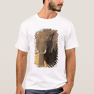 T-shirt Africana de Loxodonta d'éléphant de Bush