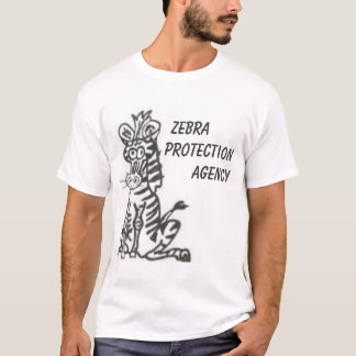 T-shirt Agence pour la Protection de zèbre