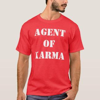 T-shirt Agent de karma
