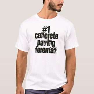 T-shirt Agent de maîtrise de pavage concret