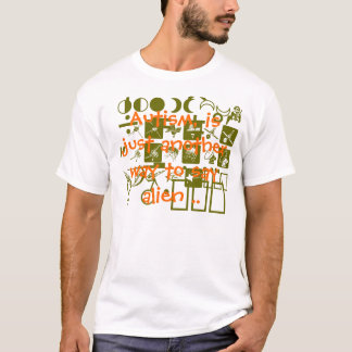 T-shirt Agent secret d'espace extra-atmosphérique