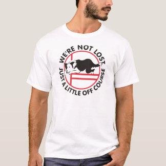 T-shirt Agilité de border collie outre de cours