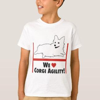 T-shirt Agilité de corgi