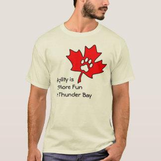 T-shirt Agilité de Thunder Bay - dos de blanc