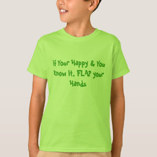 T-shirt Agitez vos mains - diversité d'autisme