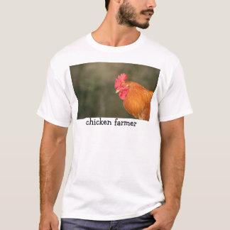 T-shirt Agriculteur de poulet