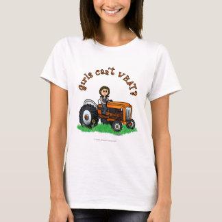 T-shirt Agriculteur orange-clair