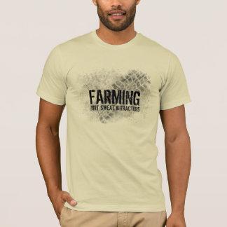 T-shirt Agriculture de la saleté, de la sueur et des