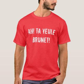 T-shirt Ah ! Merci brun de yeule !