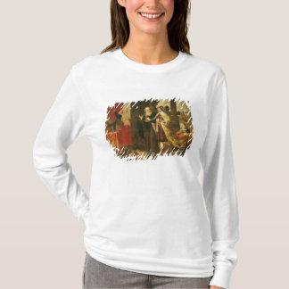 T-shirt Ahasuerus montrant son trésor à Mordecai