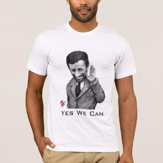 T-shirt Ahmadinejad oui nous pouvons