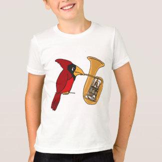 T-shirt AI cardinal jouant la chemise de tuba