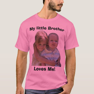 T-shirt Aidan 3, mon petit frère, m'aime !