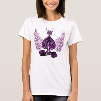 T-shirt Ailes et couronne asexuelles de fierté de l'as