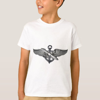 T-shirt ailes pilotes marines