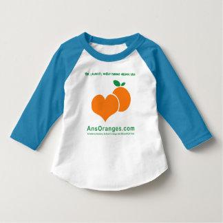 T-shirt Aimez ces oranges ! Raglan