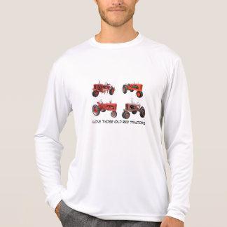 T-shirt Aimez ces vieux tracteurs rouges