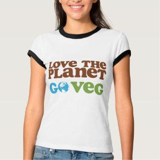 T-shirt Aimez la planète vont Veg