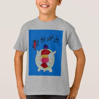 T-shirt aimez la vie d'océan