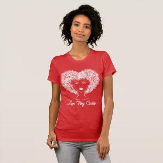 T-shirt Aimez mes boucles