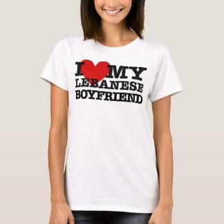 T-shirt Aimez mon ami libanais