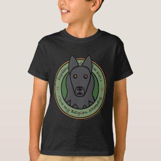 T-shirt Aimez mon chien de berger belge
