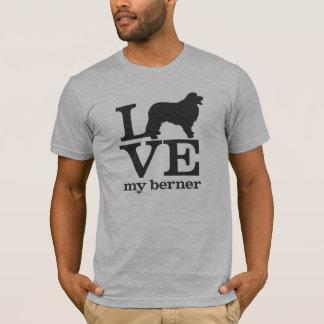 T-shirt Aimez mon chien de montagne de Bernese