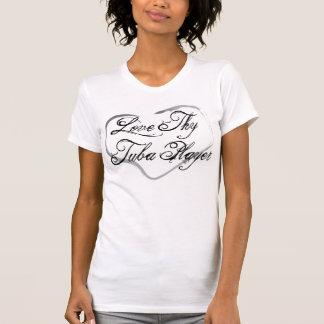 T-shirt Aimez Thy joueur de tuba