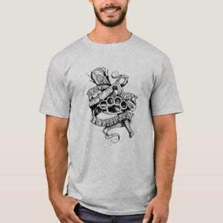 T-shirt Aimez Thy voisin (la conception de tatouage)