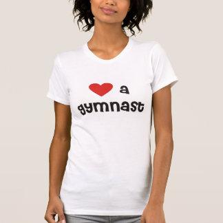 T-shirt Aimez une pièce en t décontractée de cou de scoop