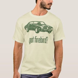 T-shirt Air dynamique 1970 de Pontiac Firebird 400