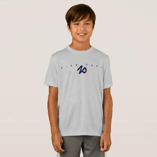 T-Shirt Ajustement du dri du garçon