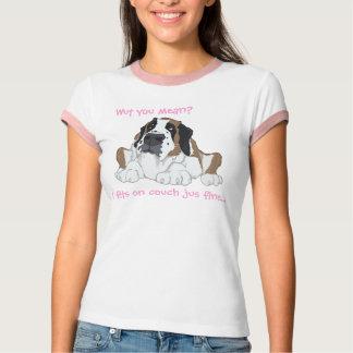 T-shirt Ajustements I sur l'amende de jus de divan…