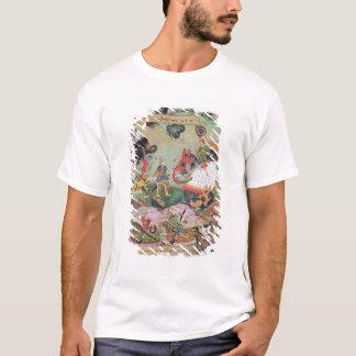 T-shirt Akbar recevant les tambours et les normes a