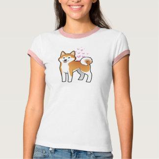T-shirt Akita Inu/amour de Shiba Inu