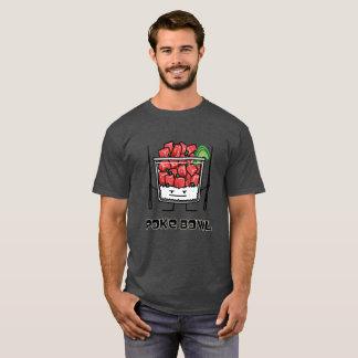 T-shirt Aku de baguettes de salade de poisson cru d'Hawaï