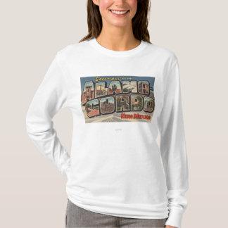 T-shirt Alamongordo, Nouveau Mexique - grandes scènes de