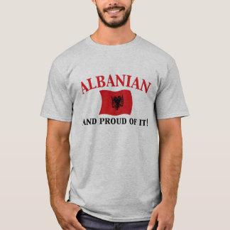 T-shirt Albanais fier