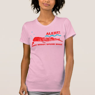 T-shirt ALERTE ! Cachalot géant de robot
