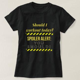 T-shirt Alerte de spoiler !