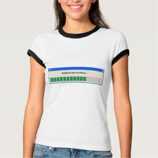 T-shirt Alerte : Idée brillante chargeant…